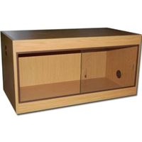 Picture of UR - OAK FINISH REPTILE CABINET