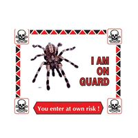 Picture of Tarantula Warning Sign #301