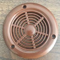 Picture of Plastic Air Vent Round Brown - 70mm