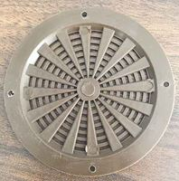 Picture of Plastic Air Vent Round Brown- 75mm