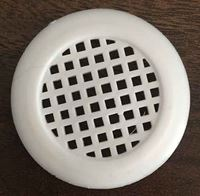 Picture of Plastic Air Vent Round White - 38mm