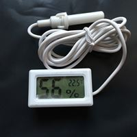 Picture of Mini LCD Digital Thermometer Hygrometer (White)