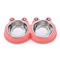 Little Double Bowls Set - Feed / Water