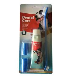 Dental Care - Dog Tooth Brush Kit & Paste