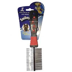 Grooming Hair Comb Brush Fur Rake Tool Double