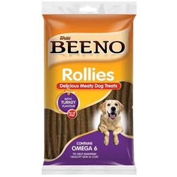 Beeno - Rollies Meaty Dog Treats Turkey