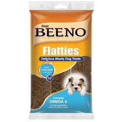 Beeno - Flatties Meaty Dog Treats Chicken
