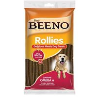 Beeno - Rollies Meaty Dog Treats Smoked Bacon