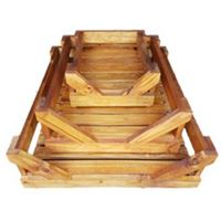 Out Door Dog Beds - Wooden