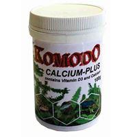 Komodo Calcium Plus w/ D3 100g