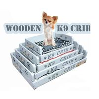 DOG WOODEN CRIB