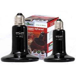 REPTI ZOO - CERAMIC HEAT EMITTERS (BLACK)