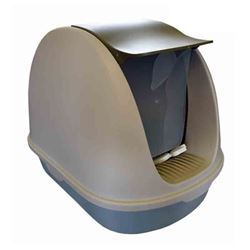PAWISE - CAT LITTER BOX # 7 / DOOR / SHOVEL - 67x45x46cm