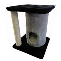 PAWSOME - CAT DRUM HOUSE WITH SCRATCHER