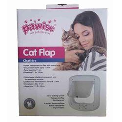PAWISE - CAT FLAP LARGE - 26x31cm