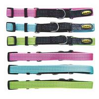 Colour Coded Collars with Reflective Tape