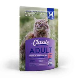 MONTEGO CLASSIC ADULT CAT WET FOOD SALMON