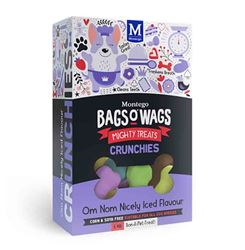 Bag's O' Wags Crunchies Nicely Iced 1Kg