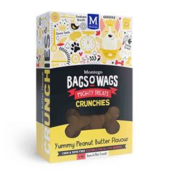Bag's O' Wags Crunchies Peanut Butter 1Kg