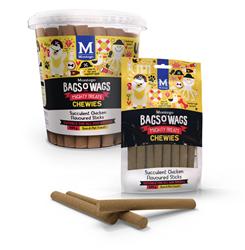 Bag's O' Wags Chewies Chicken Sticks