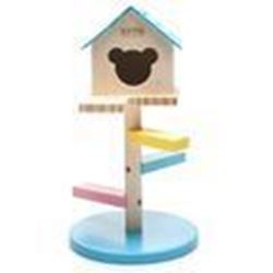 Carno Wooden Hamster House with Steps