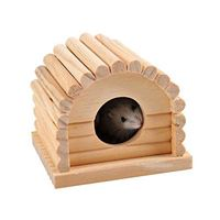 Wooden Arched Roof Hamster House