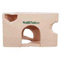 HAMSTER HOUSE - CHEESE BLOCK 130mm