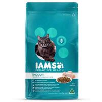 Iams Adult Indoor, Weight and Hairball Care with Chicken