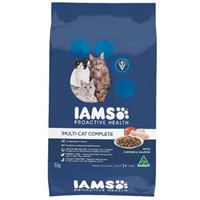 Iams Multicat Chicken and Salmon Cat Food