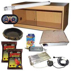 Ball Python Kit Oak 900
