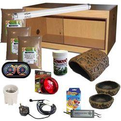 Leopard Gecko Kit Oak 900