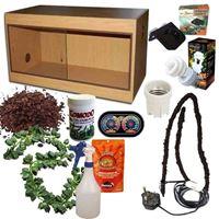 Crested Gecko Kit Oak 600
