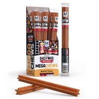 MEGA Chews - Dental Sticks - Singles (120g 30cm)