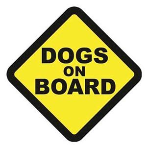 Picture for category Dog on Board Signs