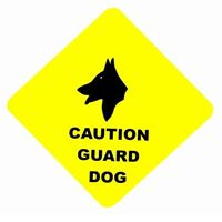 CAUTION GUARD DOG