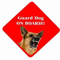GUARD DOG ON BOARD