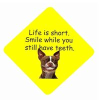 LIFE IS SHORT, SMILE....