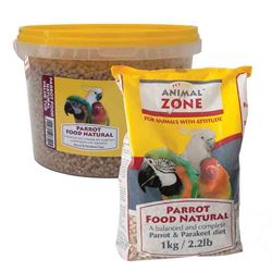 Animal Zone Parrot Food Natural