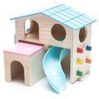 CARNO HAMSTER HOUSE WITH SLIDE