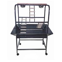 PARROT PLAY STAND W/STAIRS ON WHEELS 82X58X138cm