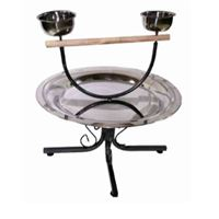 PARROT PLAY STAND ON WHEELS 55X55X51cm