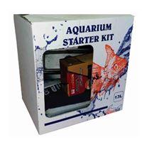 """AQUARIUM STARTER KIT 12"""" - BASIC 13L"""